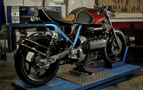 Bmw k100 Cafe Racer by Roscoo moto #motorcycles #caferacer #motos   caferacerpasion.com