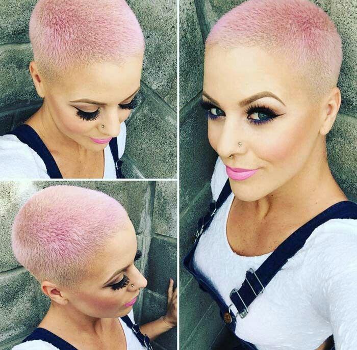 Pink Buzzcut