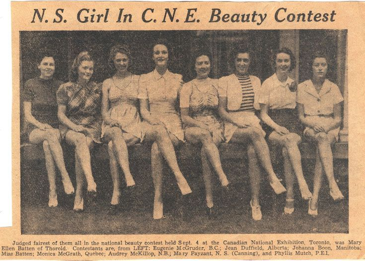 Let S Dance Canadian National Exhibition Dance Tent The Vintage Inn Beauty Contest Exhibition Miss Canada