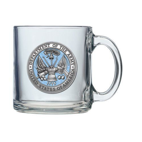 United States Army Clear Coffee Mug Set -- Read more  at the image link.