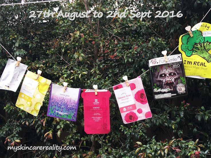 Weekly used #sheetmasks with mini #review.  #etudehouse #sheetmaskaddict #skincare #tonymoly #leaders #beauty #love