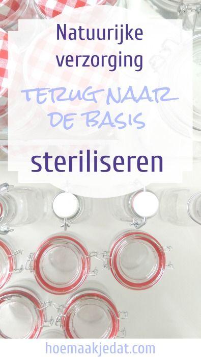 De belangrijkste stap wanneer je begint met homemade natuurlijke verzorging is dat je eerst al je spullen steriliseert.