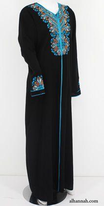 Plus size Jordanian style abeya
