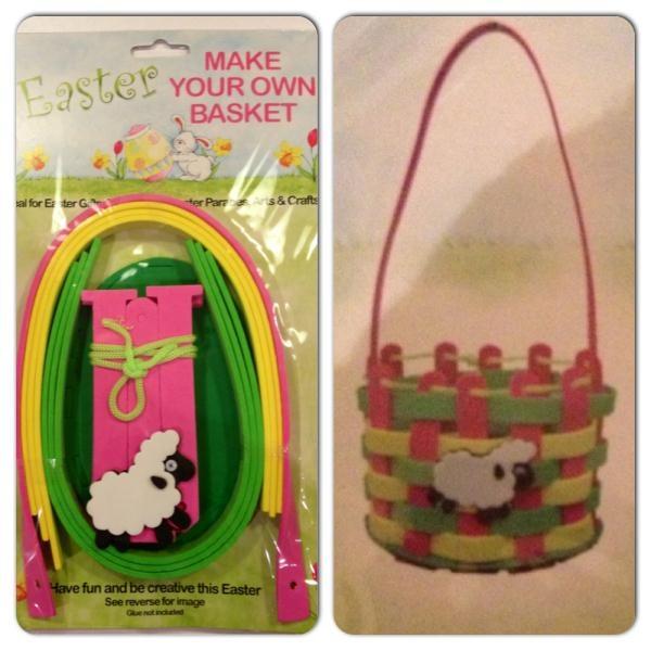 Basket Making Supplies Ireland : Make your own easter basket craft kit