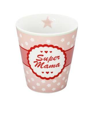 Mugg Super Mama, Happy Mugs- Krasilnikoff - Hem & Trädgård