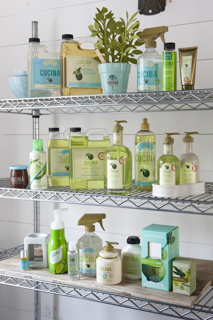 Lime zest and cypress collection / Collection Zeste de lime et cyprès
