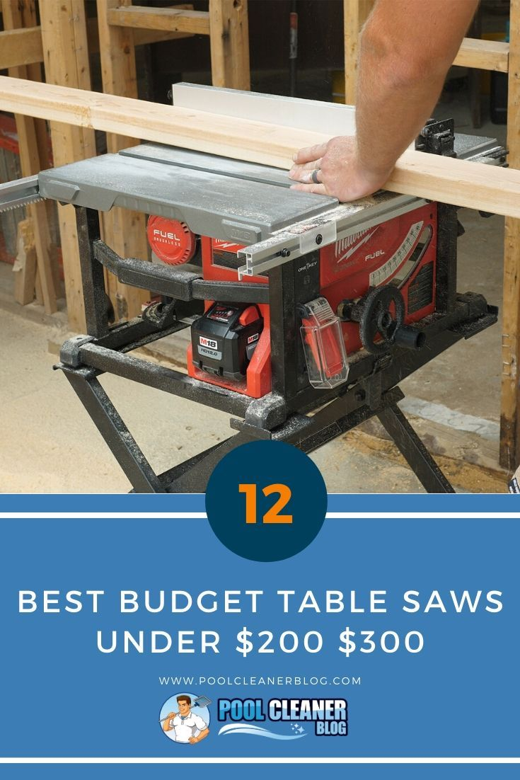 The Best Budget Table Saws Under 200 300 In 2020 Best Table Saw Table Saws Best Budget
