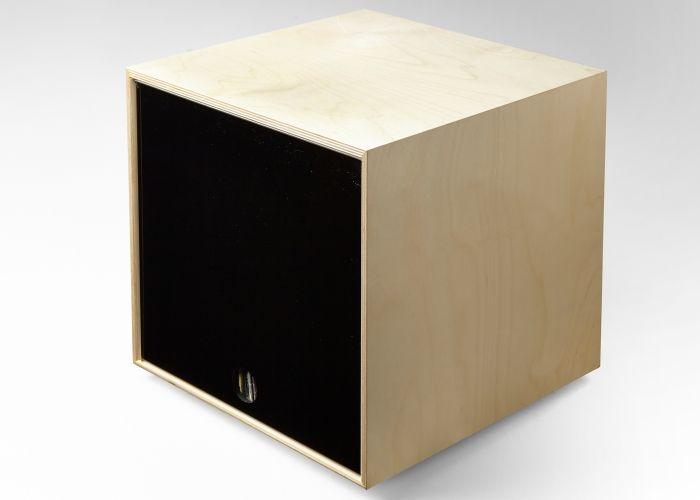 Simple Wood Goods | Black Storage Cube