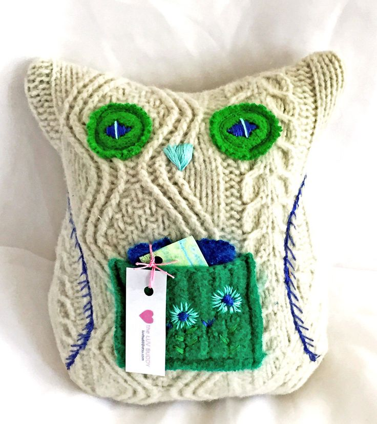 A personal favorite from my Etsy shop https://www.etsy.com/listing/466437022/eugenia-owl-stuffed-animal