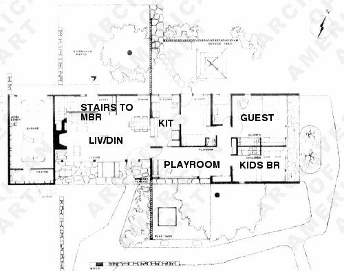 35 best breuer images on pinterest marcel breuer homes for Robinson house plans