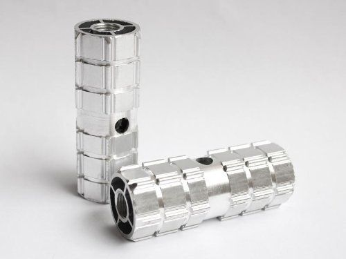 Smooth Silver Aluminum Alloy Foot Axle Stunt Bike Peg for BMX Bikes 3/8'' (Kid Size). #Smooth #Silver #Aluminum #Alloy #Foot #Axle #Stunt #Bike #Bikes #(Kid #Size)