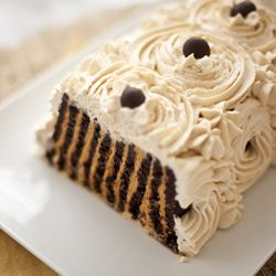 Thumbnail image for Icebox Cake (homemade chocolate wafers with caramel cream)