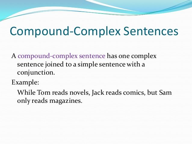 the 25  best compound complex sentence examples ideas on