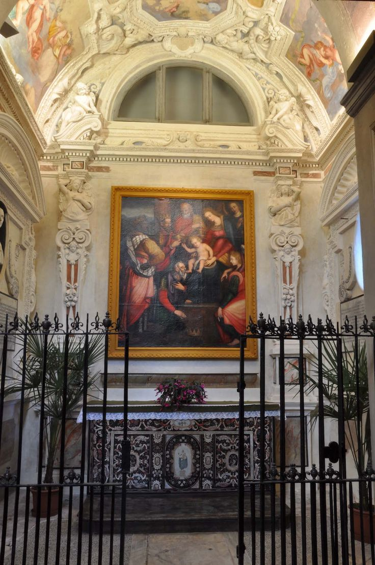 The chapel of the Epiphany in San Bernardino's church (XV-XVII c.) in Saluzzo - Cuneo - Piedmont - Italy after paintings conservation (2009-2011)