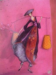 Another Gaelle Boissonnard. Love the palette...