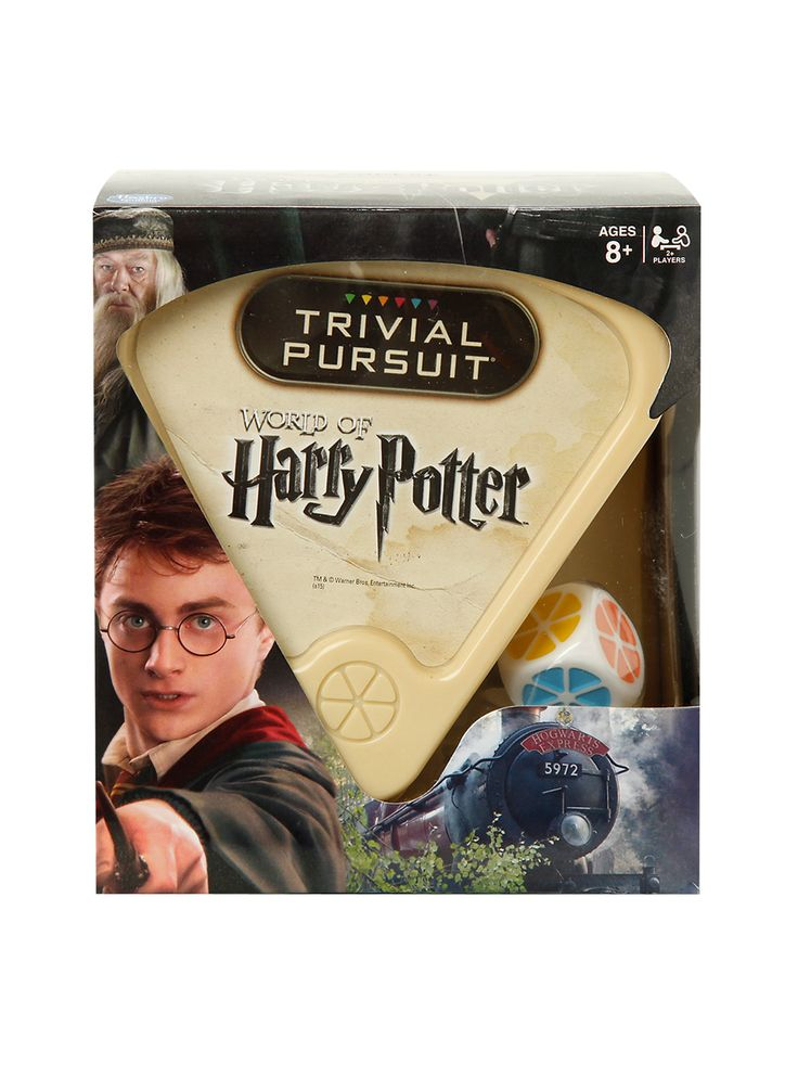 Harry Potter Trivial Pursuit Game | Hot Topic