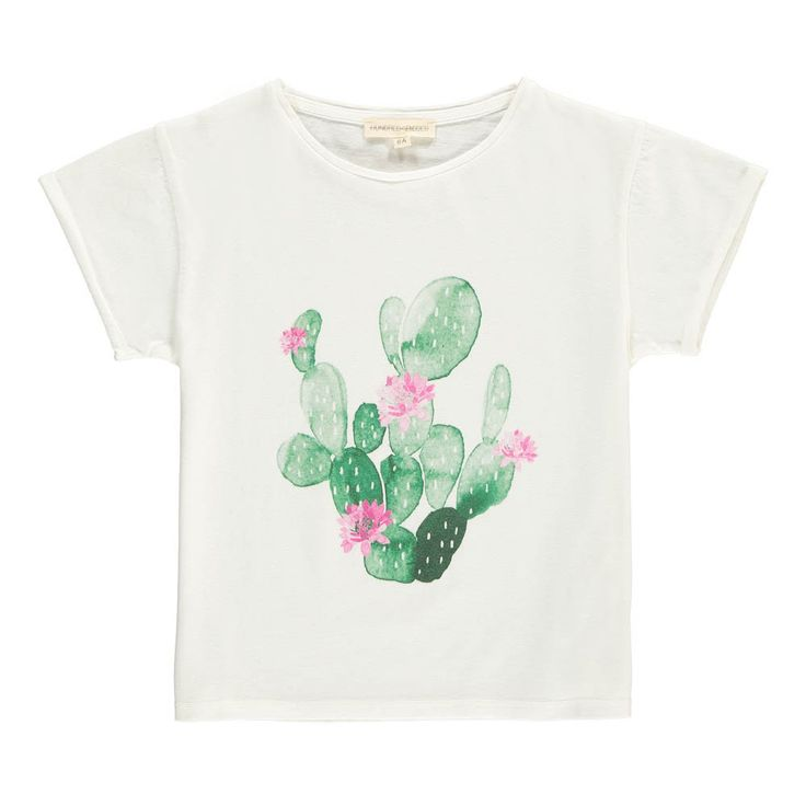 T-shirt Cactus - Ecru Hundred Pieces