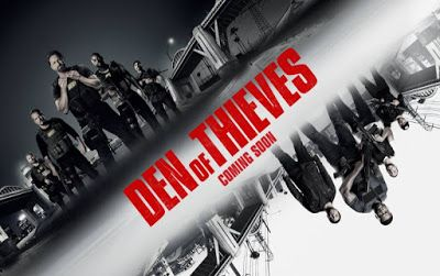 Den of Thieves (2018) English Movie Review, Trailer, Poster #GerardButler