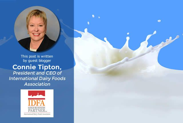 IDFA's Connie Tipton Discusses Dairy Trends