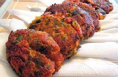Tomatokeftedes (Fried tomato balls) | My Greek Dish