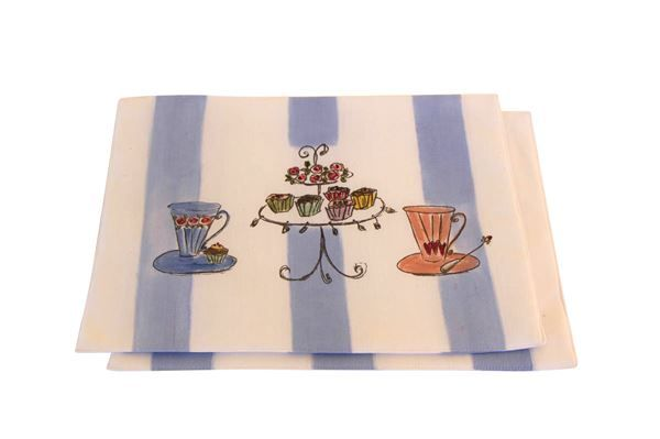 Let's have Tea Padded Placemats