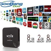 GooBang Doo MXIII Android 4.4 Quad Core Streaming Media Player with KODI XBMC   Overview: Notice from GooBang Doo: Make sure that your remote points to the TV Box when you use remote to control TV Box. Features: * Video Read  more http://themarketplacespot.com/television-video/goobang-doo-mxiii-android-4-4-quad-core-streaming-media-player-with-kodi-xbmc/