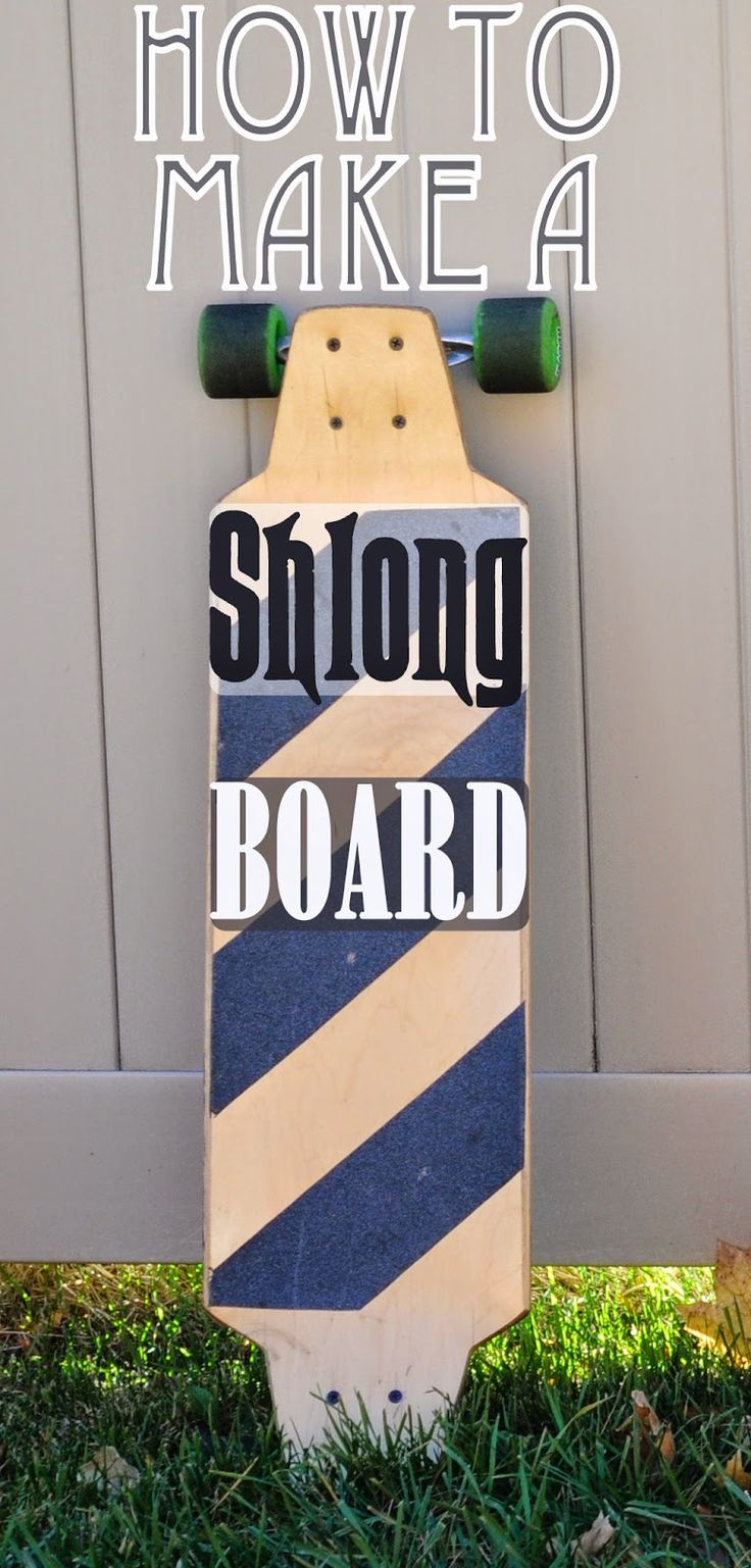 Best 25 make your own skateboard ideas on pinterest design your make a short longboard out of a regular skateboard deck easy gift idea diy solutioingenieria Choice Image
