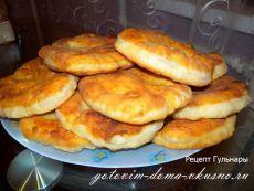 """Жэймэ - татарские лепешки на сковороде, готовятся на """"раз-два-три""""!   Готовим Дома Вкусно"""