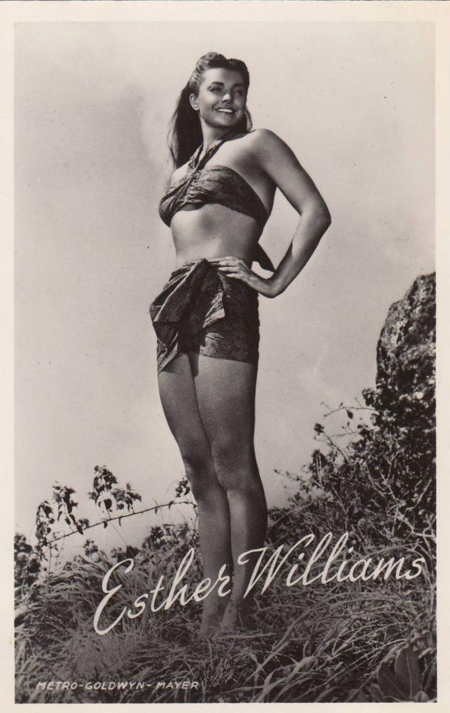 Esther Williams 1950s Dutch Photo Postcard Publicity Shots Pinterest Esther Williams