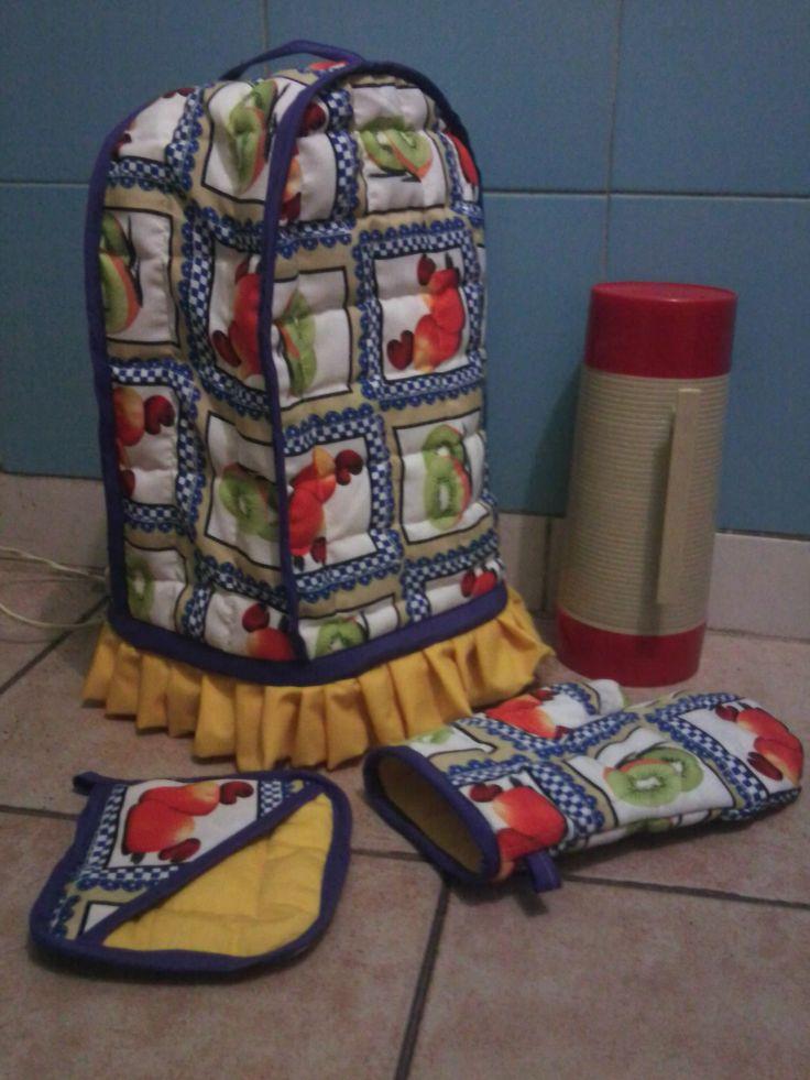 Forro para licuadora, guante y agarra olla a buen precio en Caracas