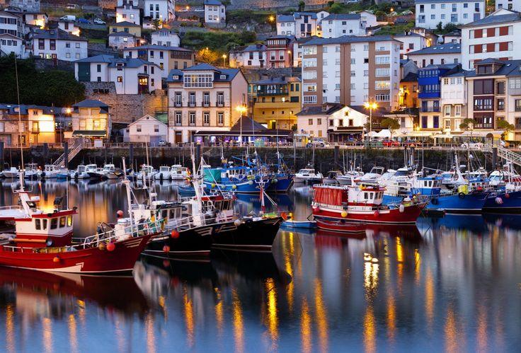 Puerto de Ribadeo, Lugo, Camino de Santiago, Camino del Norte