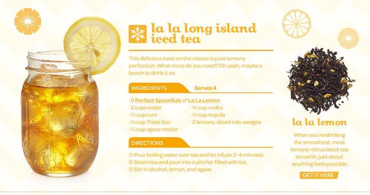 DavidsTea - Tea Recipes. Oh summer, where are thou?