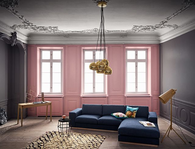 Bolia | The New 2016 Collection So gorgeous - pink, gray and deep blue