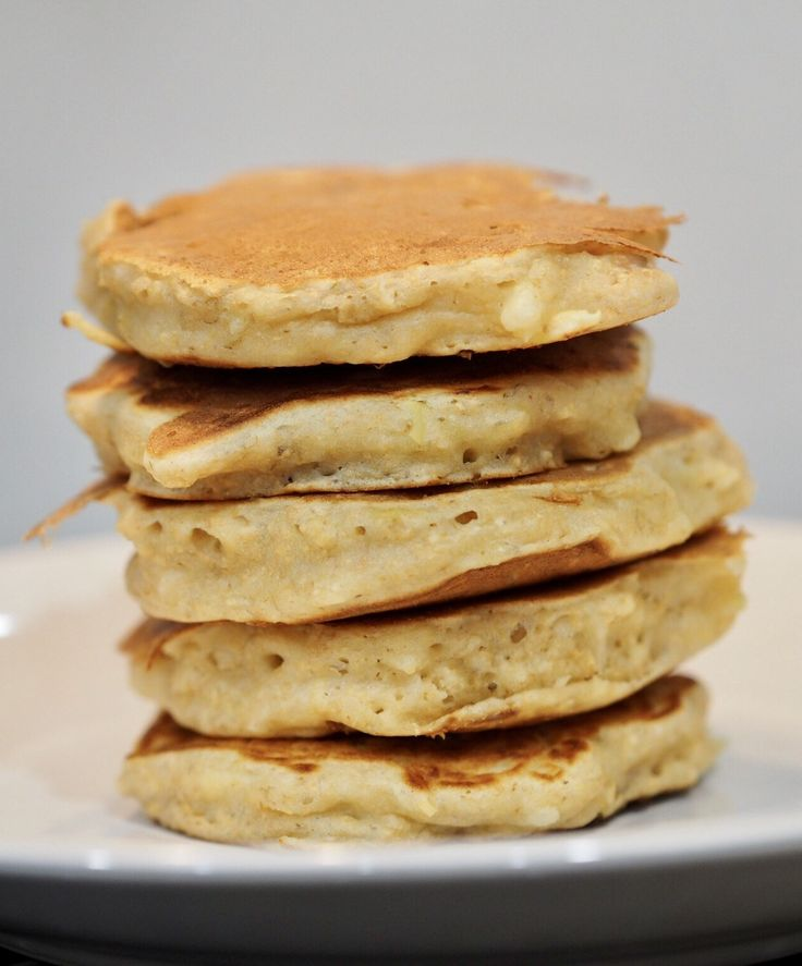 Wholemeal No Added Sugar Apple and Banana Pikelets