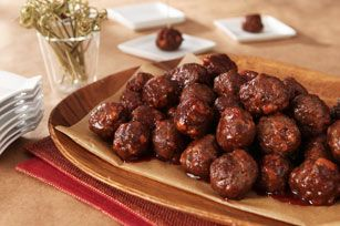 Classic Cocktail Meatballs Recipe - Kraft Recipes  #PintoWinSweepstakes