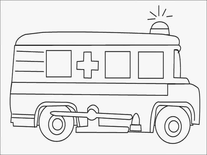 Ambulance Coloring Pages Printable Truck Coloring Pages Monster Truck Coloring Pages Cars Coloring Pages