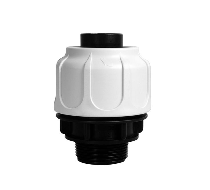 T.I.P. Pipe Connector Compression Fitting 38mm, Grey, 11x 8x 8cm, 30967