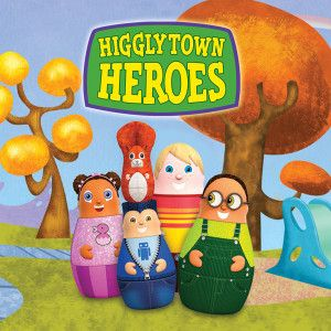 Higglytown Heroes...a children's show about how community once was #heroes #community