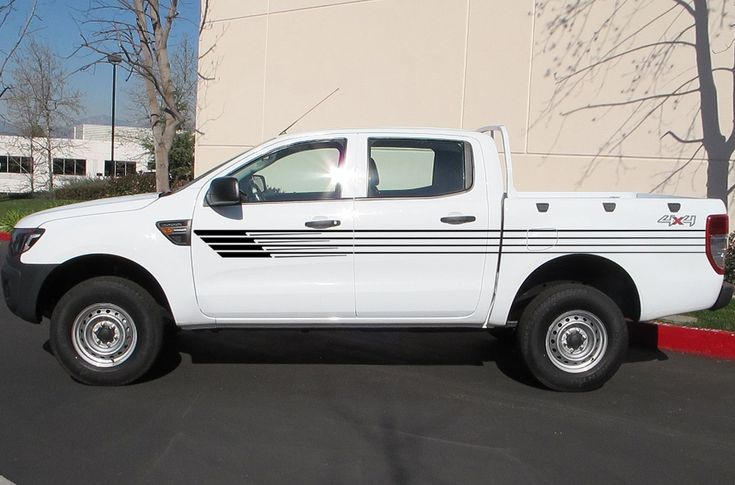 PC stripes pick up truck tapered vinyl decal hood graphic for camo van  Ford ranger 2012 2013 2014 2015 2016 sticker