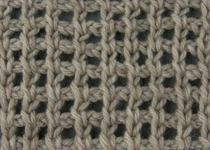Great site with multiple stitches. Tunisian Crochet: Tunisian Chain Lace