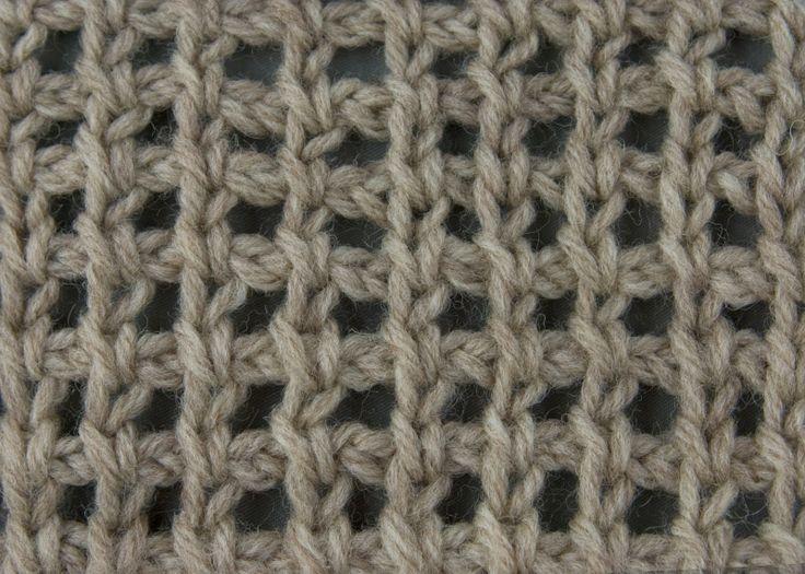 Great site with multiple stitches. Tunisian Crochet: Tunisian Chain Lace