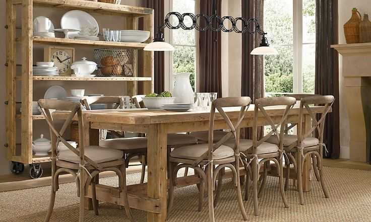 restoration hardware dining room pinterest here another example have been admiring from