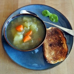 Savory Vegan Vegetable Soup