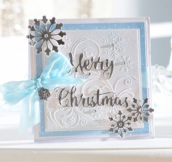 Card made using the Sara Signature Contemporary Christmas collection from Crafter's Companion. #crafter'scompanion