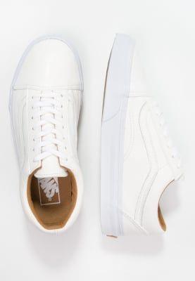 Femme Vans OLD SKOOL - Baskets basses - true white blanc: 57,00 € chez Zalando (au 27/09/16). Livraison et retours gratuits et service client gratuit au 0800 915 207.