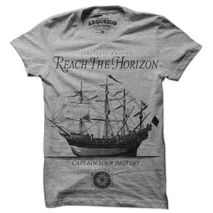 Love this. Sail your ship!Tees Shirts, Motivation Tees, Limitless Abilities, Abilities #Mystyle, Fashion Pick, Gentleman Style, Arquebus Clothing, Favorite Fashion, T Shirts