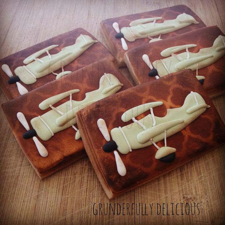Vintage Airplanes By Grunderfully Delicious