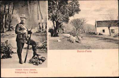 Commandant JP (Koos) Jooste - 1900