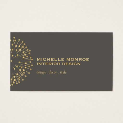 Interior Designer Business Cards: 10+ Handpicked Ideas To