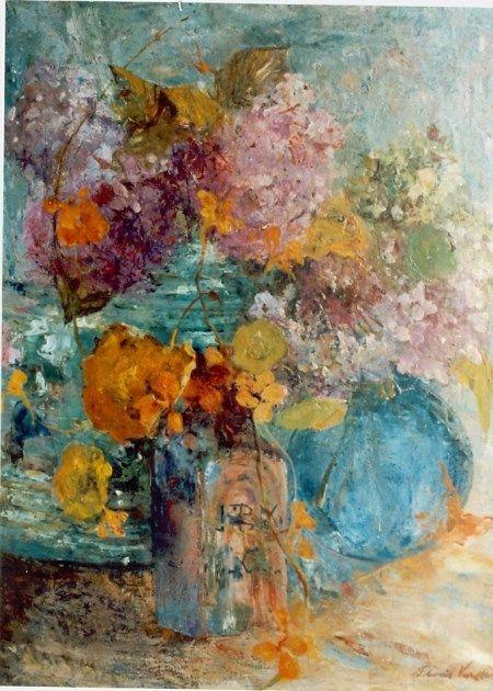 Floris Hendrik Verster van Wulverhorst 'Floris Verster' (Leiden 1861-1927) A colourful bouquet - Dutch Art Gallery Simonis and Buunk Ede, Netherlands.